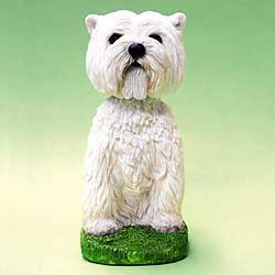 West Highland Terrier Bobble Head