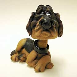 Bloodhound Bobble Head