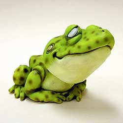 Frog Bobble Head