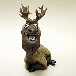 Elk Bobble Head