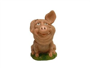 Pig Bobble Head