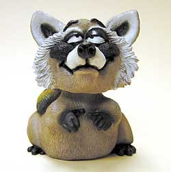 Raccoon Bobble Head