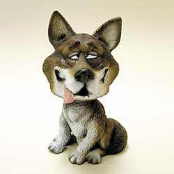 Wolf Bobble Head