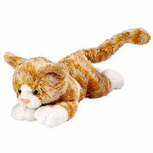 Ginger Tabby Cat Plush Animal