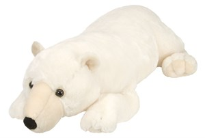 Polar Bear Plush Stuffed Animal 30 Inches