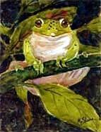 Frog Garden Flag