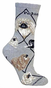 Pekingese Socks