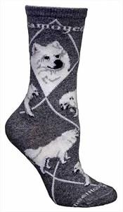 Samoyed Socks