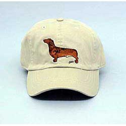 Dachshund Hat Red