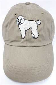 White Poodle Hat