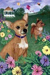 Chihuahua Garden Flag