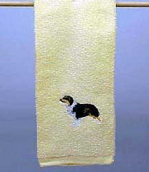 Australian Shepherd Hand Towel