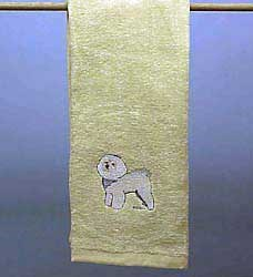 Bichon Frise Hand Towel