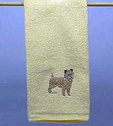 Cairn Terrier Hand Towel