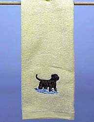 Chesapeake Bay Retriever Hand Towel
