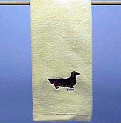 Dachshund Hand Towel
