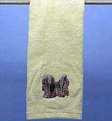 Lhasa Apso Hand Towel