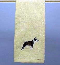 Pit Bull Terrier Hand Towel