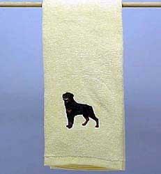 Rottweiler Hand Towel