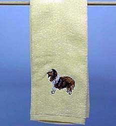 Shetland Sheepdog Hand Towel