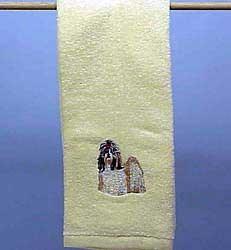 Shih Tzu Hand Towel