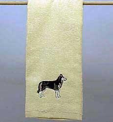 Siberian Husky Hand Towel