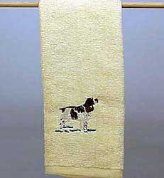 Springer Spaniel Hand Towel