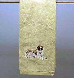 Saint Bernard Hand Towel