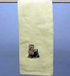 Yorkshire Terrier Hand Towel