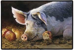 Pig Floormat