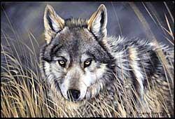 Wolf Floormat