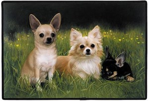 Chihuahua Floormat