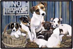 Jack Russell Terrier Floormat