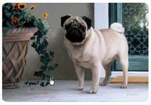 Pug Floormat