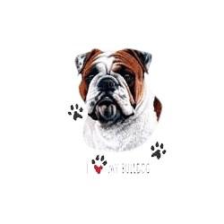 Bulldog T-Shirt - Linda Picken