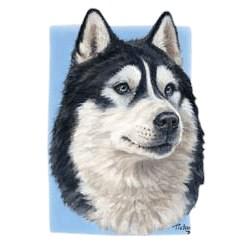 Siberian Husky T-Shirt - Linda Picken