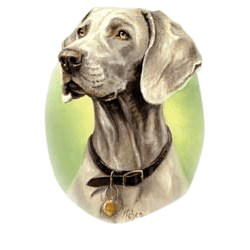 Weimaraner T-Shirt - Linda Picken