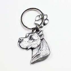 Pit Bull Terrier Keychain