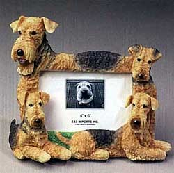 Airedale Terrier Picture Frame