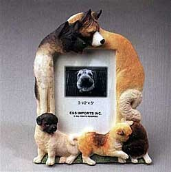 Akita Picture Frame