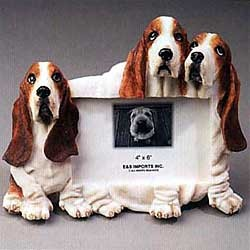 Basset Hound Picture Frame