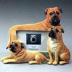 Bullmastiff Picture Frame