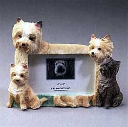 Cairn Terrier Picture Frame