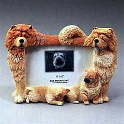 Chow Chow Picture Frame