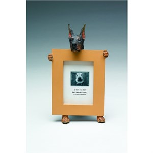 Doberman Pinscher Picture Frame