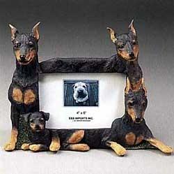 Miniature Pinscher Picture Frame
