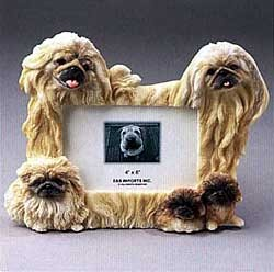 Pekingese Picture Frame