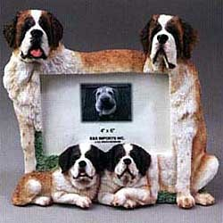 Saint Bernard Picture Frame