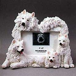 Samoyed Picture Frame