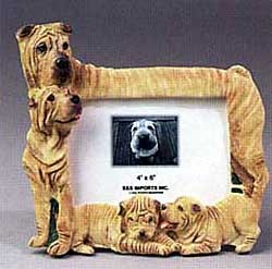 Shar Pei Picture Frame